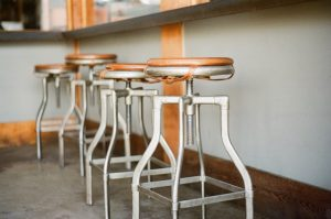 bar old stools