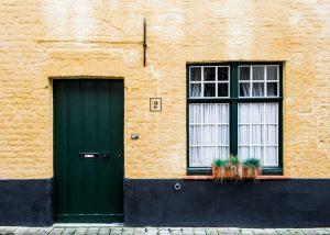 home, door, window